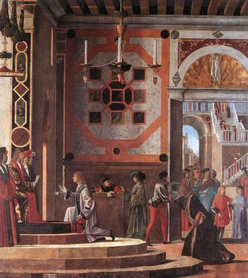 Vittore Carpaccio. The return of the ambassadors