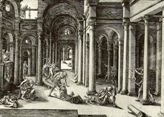 Жан де Гурмон. Избиение младенцев в Вифлееме