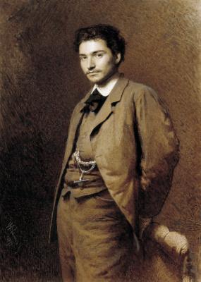 Ivan Nikolayevich Kramskoy. Portrait of the artist Feodor Vasilyev