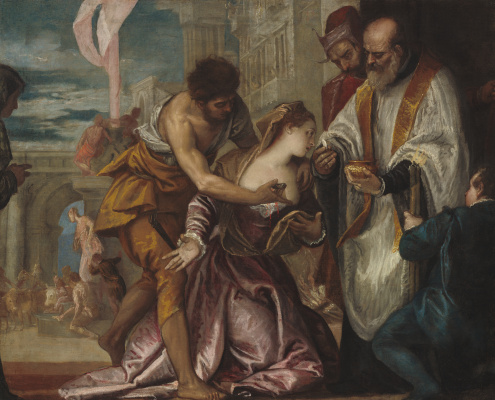 Paolo Veronese. The Martyrdom and the Last Communion of Saint Lucia