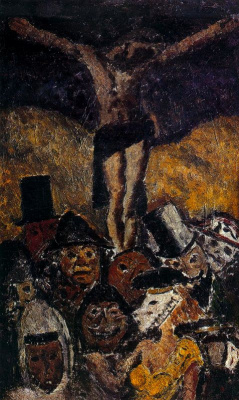 Arturo Souto. The crucifixion