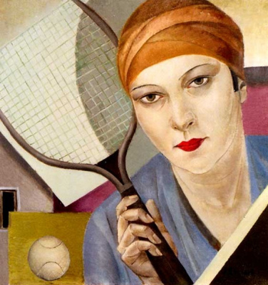 Александра Митрофановна Бельцова. Теннисистка