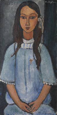 Amedeo Modigliani. Alice