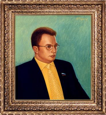 Nikolai Nikolayevich Sednin. Portrait Of Vladimir Kopteva-Dvornikova