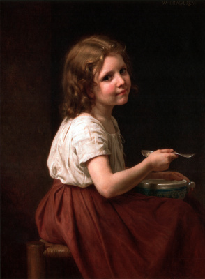 William-Adolphe Bouguereau. Soup