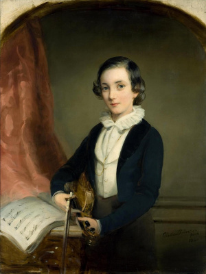 Кристина Робертсон. Портрет князя Николая Борисовича Юсупова подростком . 1840