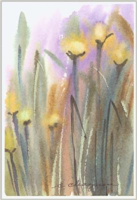Клин Чагнон. Желтые цветы