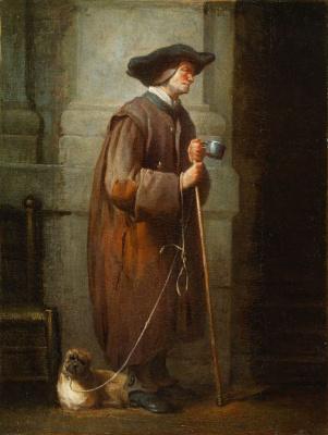 Jean Baptiste Simeon Chardin. Blind beggar
