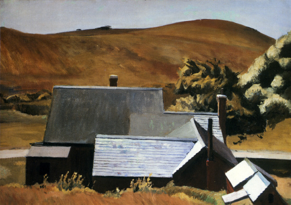 Edward Hopper. The House Of The Fat Man Cobb, South Truro