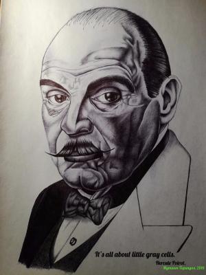 Alexey Olkhovatsky. Hercule Poirot (David Suchet)