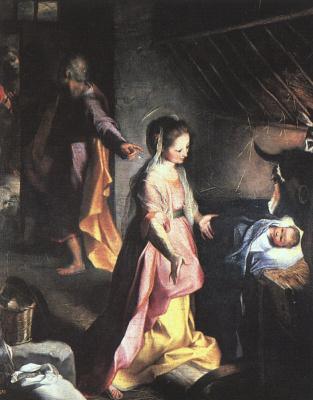 Федерико Бароччи. Рождение