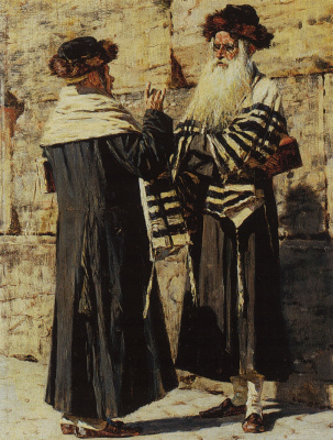 Vasily Vereshchagin. Two Jews