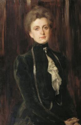 Осип Эммануилович (Иосиф) Браз. Портрет неизвестной.