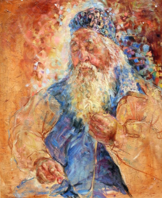 Natalia Valerievna Chepulskaya. A portrait of an old man