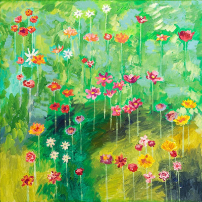 Евгений Морозов. Summer rain