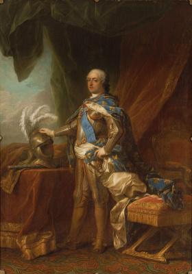 Charles Andre van Loo. Louis XV, king of France