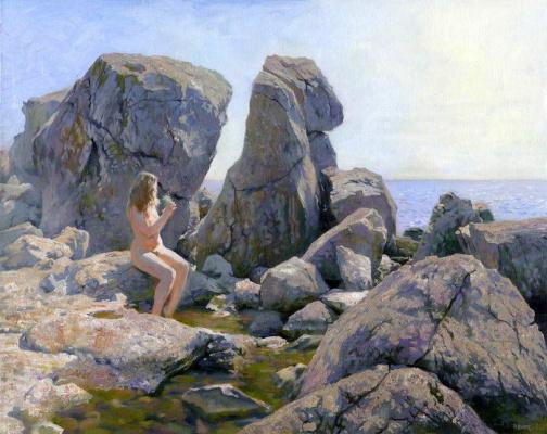 Денис Чернов. Весна на каменном берегу