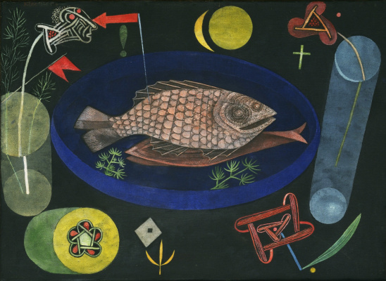 Paul Klee. Around fish