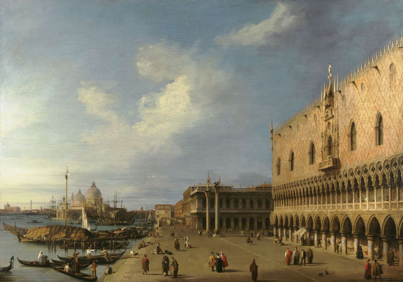 Giovanni Antonio Canal (Canaletto). Doge's Palace