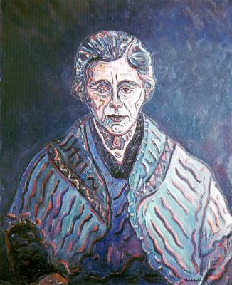 Хосеп Альберти. Портрет пожилой женщины