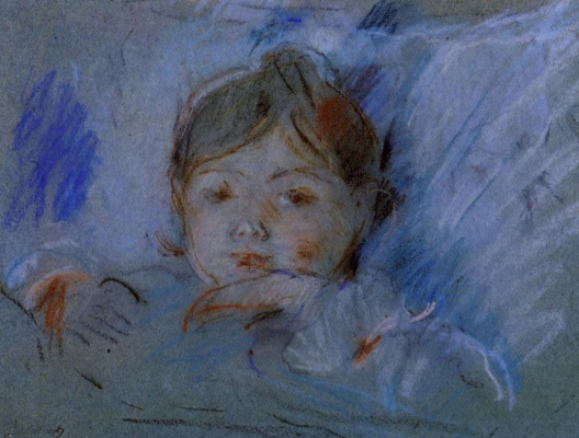 Berthe Morisot. Child In Bed