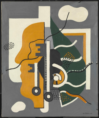 Fernand Leger. Keys (composition)