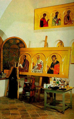 Icon Painting. Icons