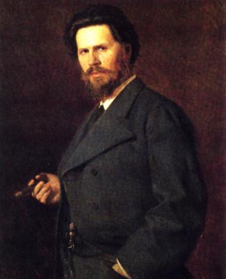 Nikolay Aleksandrovich Yaroshenko. Portrait Of Kramskoy