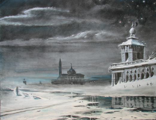 Андрей Ноаров. Сан Джорджо.Лунная ночь.