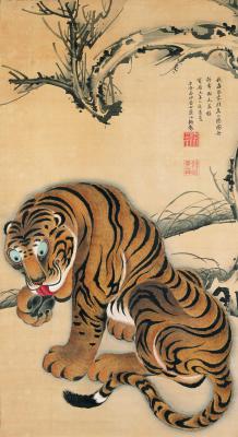 Ito Dziakutu. Tiger