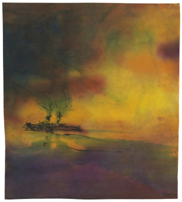 Emil Nolde. The sea and the ship