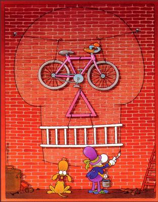 Мордилло. Велосипед