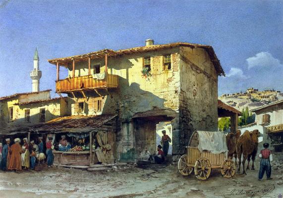 Luigi Premazzi. Southern Bazaar