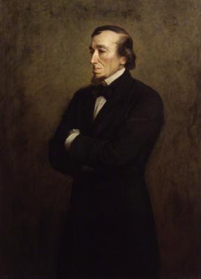 John Everett Millais. Benjamin Disraeli, Lord Beaconsfield