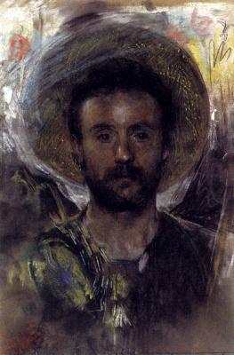Антонио Манчини. Мужчина