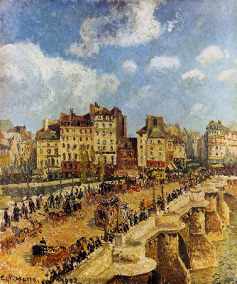 Camille Pissarro. The new bridge