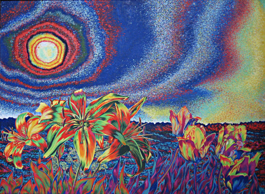 Natalia Vladimirovna Plastinina. Alien Flowers
