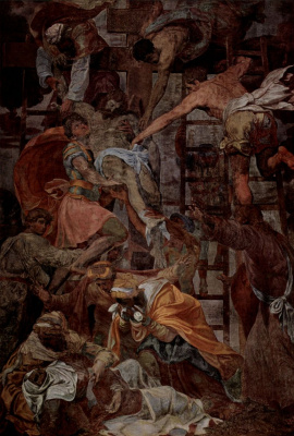 Даниэле да Вольтерра. Снятие с креста