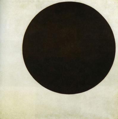 Kazimir Malevich. The black circle