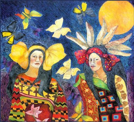 Патриция Вуатт. Бабочки