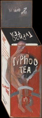 David Hockney. Tea Painting in an Illusionistic Style