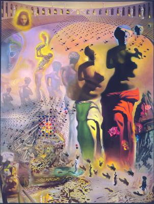 Salvador Dali. The hallucinogenic toreador