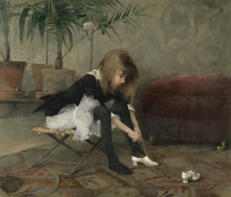 Helena Sophia Scherfbek. Dance shoes