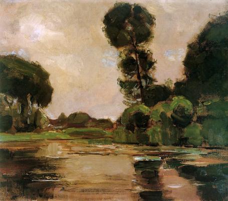Пит Мондриан. Одинокое дерево на Рейне