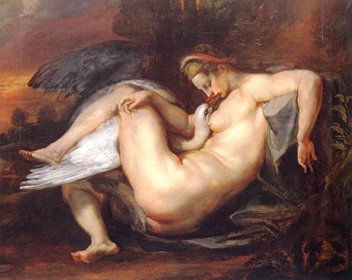 Peter Paul Rubens. Leda and the Swan