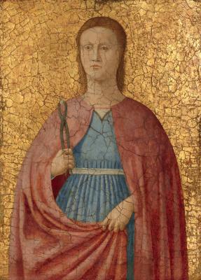 Пьеро делла Франческа. Святая Аполлония