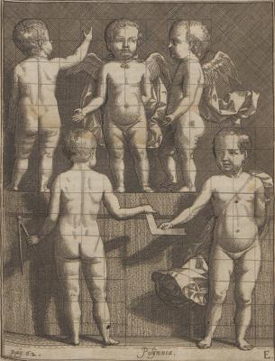Самюэл ван Хогстратен. Введение в высшую школу живописи. Фигура ребенка
