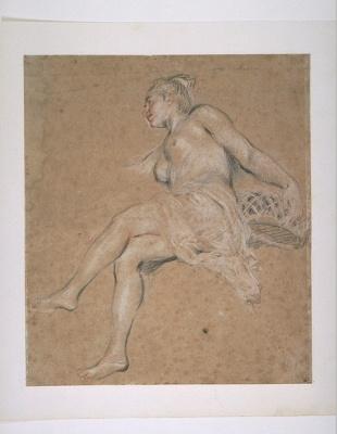 Antoine Watteau. Flora