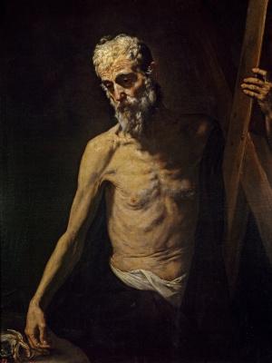 Jose de Ribera. SV. Andrew, the Apostle