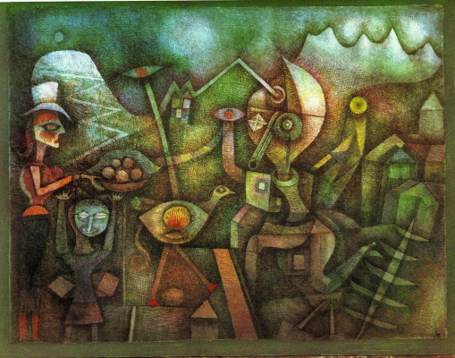 Paul Klee. Carnival in the mountains